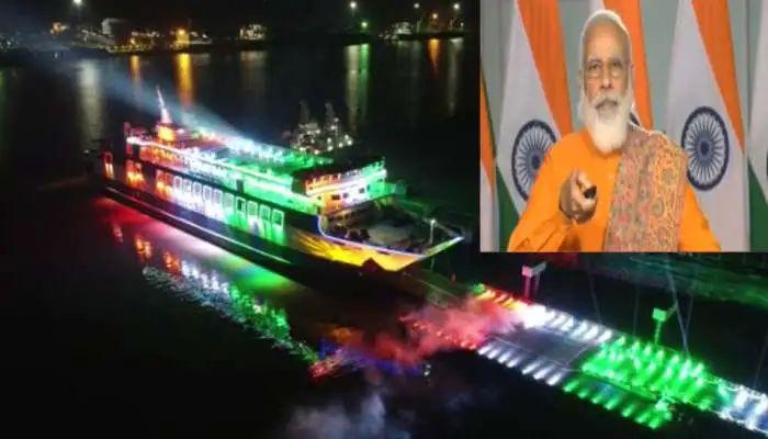 Photo of ગુજરાતને વધુ એક ભેટ PM મોદીના હસ્તે હજીરા-ઘોઘા રો-પેક્સ ફેરીનું વર્ચ્યુઅલ ઉદઘાટન